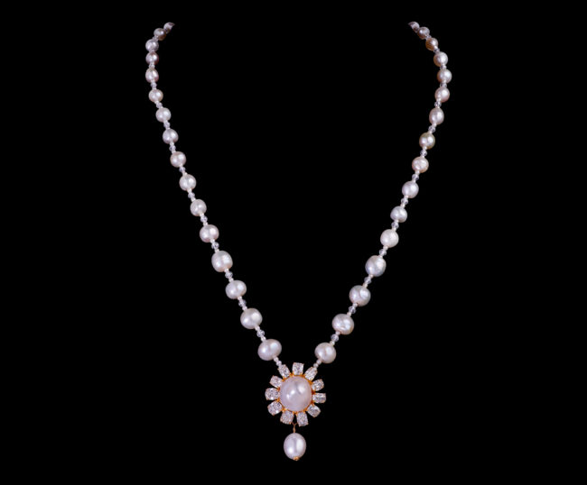 Glamour of Pearls Necklace